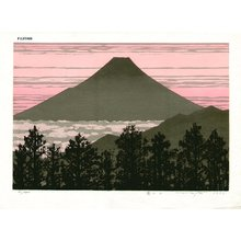 Fujita, Fumio: Mt. Fuji D - Asian Collection Internet Auction