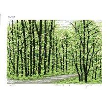 Fujita, Fumio: HAYASHINOMICHI B (path to the forest B) - Asian Collection Internet Auction