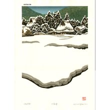 Nishijima Katsuyuki: Heavy Snow - Asian Collection Internet Auction