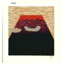 NISHIDA, Tadashige: Red Fuji (8) - Asian Collection Internet Auction