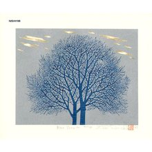 NISHIDA, Tadashige: Blue Tree (5) - Asian Collection Internet Auction
