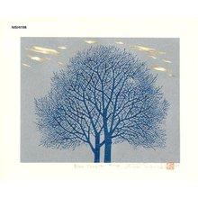 NISHIDA, Tadashige: Blue Tree (5) - Asian Collection Internet Auction
