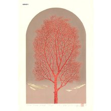 NISHIDA, Tadashige: One Tree (Red) - Asian Collection Internet Auction