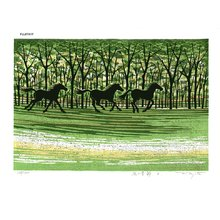 Fujita, Fumio: MIDORINOKISETSU D (Green season D) - Asian Collection Internet Auction