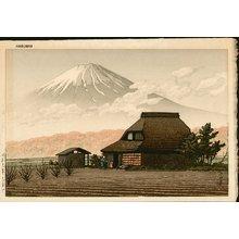 川瀬巴水: NARUSAWA NO FUJI (Mt. Fuji, Narusawa) - Asian Collection Internet Auction