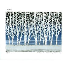 Fujita, Fumio: SHIROIHAYASHI F (white forest F) - Asian Collection Internet Auction