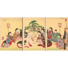 豊原周延: Wedding - Asian Collection Internet Auction