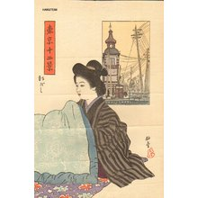 Ishii Hakutei: Shinbashi - Asian Collection Internet Auction