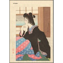 Torii Kotondo: 12 Aspects of Women, YUKI (Snow) - Asian Collection Internet Auction
