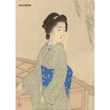 Suzuki, Kason: Beauty and willow - Asian Collection Internet Auction