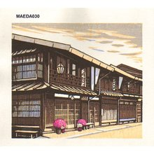 Maeda, Koichi: Village street - Asian Collection Internet Auction