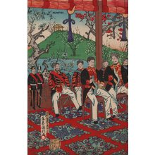 Utagawa Kunitoshi: High ranking politicians - Asian Collection Internet Auction