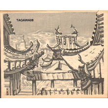Tagawa, Ken: Sofuku Temple in Nagasaki - Asian Collection Internet Auction