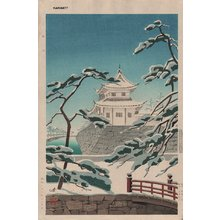 Kawai, Kenji: Nijo Castle - Asian Collection Internet Auction