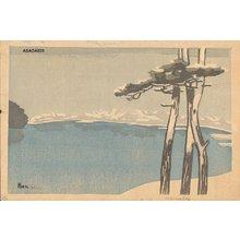 Asada Benji: YUKI NO RAKUHOKU (Snow at Rakuhoku) - Asian Collection Internet Auction