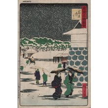 Utagawa Hiroshige III: Snow - Asian Collection Internet Auction