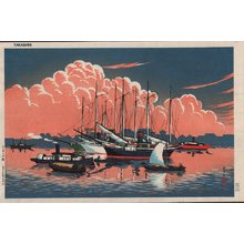 Ito, Takashi: Sunset at Tsukishima - Asian Collection Internet Auction