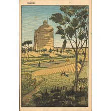Okuyama, Gihachiro: Agricultural scene - Asian Collection Internet Auction