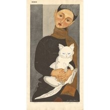 Sekino, Junichiro: Boy with Cat - Asian Collection Internet Auction