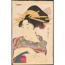 喜多川歌麿: Woodblock print, reproduction - Asian Collection Internet Auction