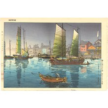 風光礼讃: Seto Island Sea, Akashi Bay - Asian Collection Internet Auction