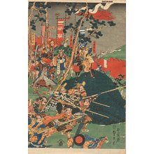 Utagawa Sadahide: Battle - Asian Collection Internet Auction