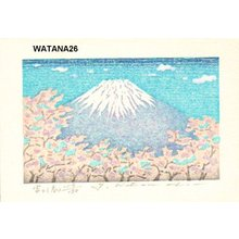 Watanabe, Yuji: FUJI (HARU, Mt. Fuji (spring) - Asian Collection Internet Auction