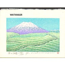 Watanabe, Yuji: FUJI (SHOKA), Mt. Fuji (early summer) - Asian Collection Internet Auction