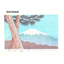 Watanabe, Yuji: FUJI (HUYU), Mt. Fuji (winter) - Asian Collection Internet Auction