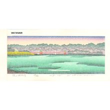 Watanabe, Yuji: OGIYAMAKO AMEBARE (Lake Ogiyama) - Asian Collection Internet Auction