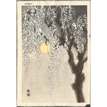 Kotozuka Eiichi: Plum and Moon - Asian Collection Internet Auction