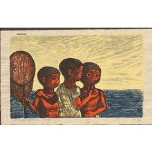 Murakami, Gyojin: Children at the Ocean - Asian Collection Internet Auction